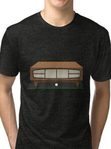 Glitch bag furniture smallcabinet danish modern small cabinet Tri-blend T-Shirt