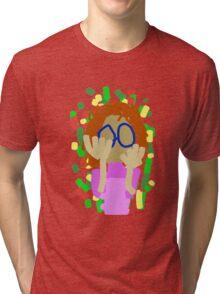 Nerd Girl Tri-blend T-Shirt