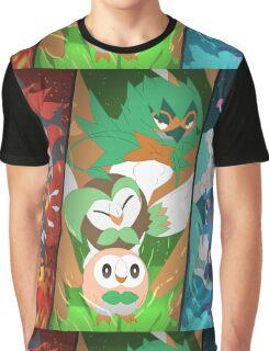 New Pokémon starters Graphic T-Shirt
