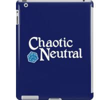 Chaotic Neutral iPad Case/Skin