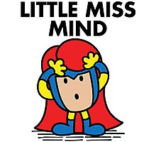 Little Miss Mind Photographic Print