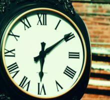 Tick Tock Goes the Clock Sticker