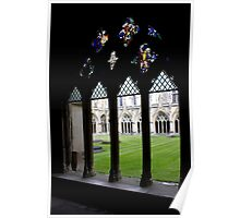 Canterbury Cloisters Poster