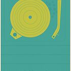 Vintage Vinyl  by modernistdesign