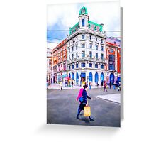 O'connell Street Splendor Greeting Card