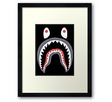 Bape Shark Framed Print