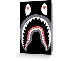 Bape Shark Greeting Card