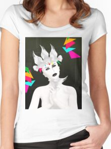 portrait Women's Fitted Scoop T-Shirt