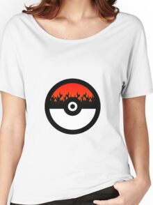 I Choose Fire Type Women's Relaxed Fit T-Shirt