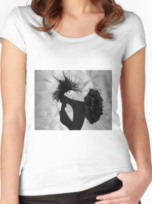 lady d 2 Women's Fitted Scoop T-Shirt