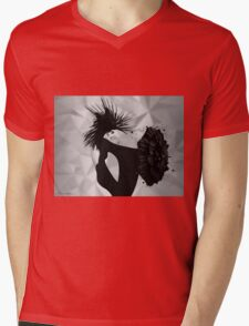 lady d 2 Mens V-Neck T-Shirt