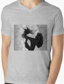 lady d 2 Mens V-Neck T-Shirt