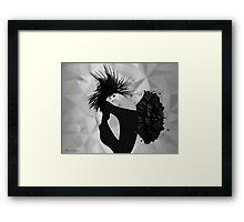 lady d 2 Framed Print