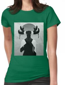 lady d 3 Womens Fitted T-Shirt