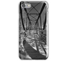 Harry Easterling Bridge Peak SC Black And White 2 iPhone Case/Skin