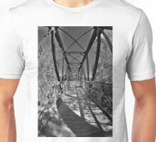 Harry Easterling Bridge Peak SC Black And White 2 Unisex T-Shirt