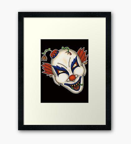 Lemmy the Clown Framed Print