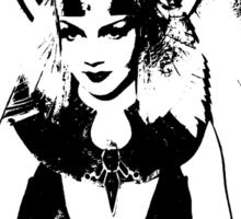 Claudette Colbert Is Cleopatra The Queen Sticker