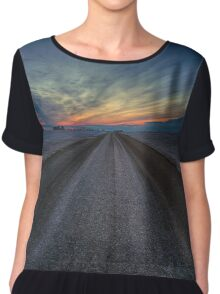 Distant Earth Chiffon Top