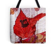 Bird on a Wall 2 Tote Bag