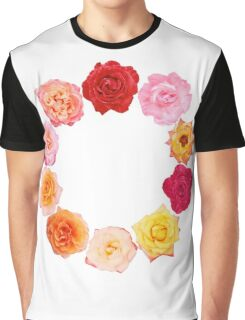 Wreath of roses Graphic T-Shirt