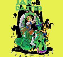 Jak & Daxter by JoniWaffle