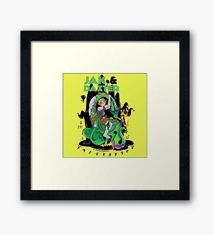 Jak & Daxter Framed Print