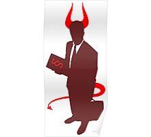 Devil's Advocate Person Poster