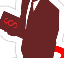 Devil's Advocate Person Sticker