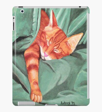 Giuseppe sleeps iPad Case/Skin