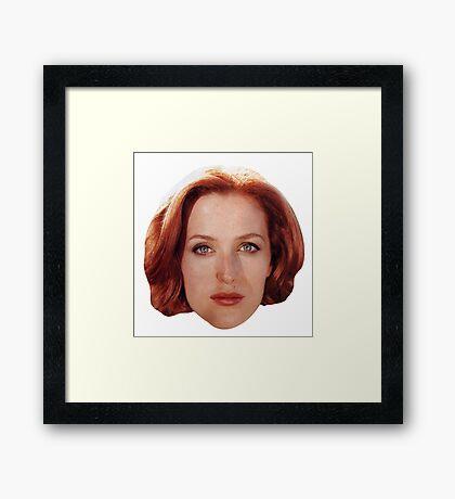 Gillian Anderson Framed Print