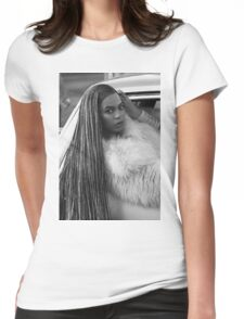 Ok ladies now let's get in formation!  Womens Fitted T-Shirt