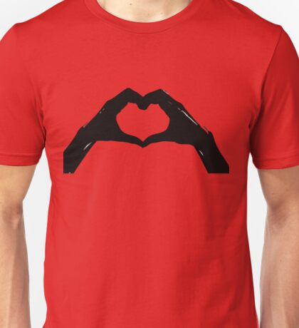 Love In Your Hands Unisex T-Shirt