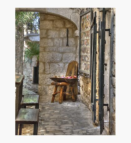 A little corner in Trogir Photographic Print