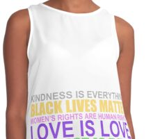 KINDNESS IS EVERYTHING Contrast Tank