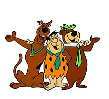 Hanna-Barbera (Scooby Doo, Flintstones, Yogi Bear) Photographic Print