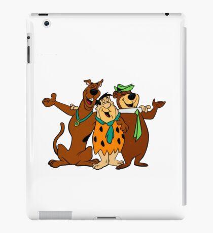 Hanna-Barbera (Scooby Doo, Flintstones, Yogi Bear) iPad Case/Skin