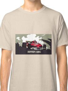 Formula 1 - Ferrari 126C Gilles Villeneuve Classic T-Shirt