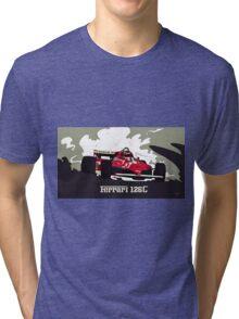 Formula 1 - Ferrari 126C Gilles Villeneuve Tri-blend T-Shirt