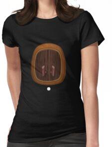 Glitch bag furniture wallcabinet firebog wall cabinet Womens Fitted T-Shirt