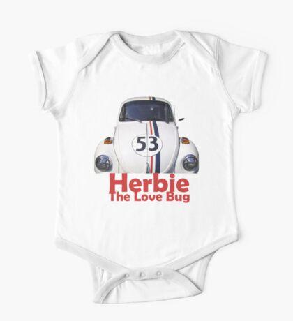 Herbie the love bug One Piece - Short Sleeve