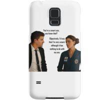Booth and Brennan - Smart Ass Samsung Galaxy Case/Skin
