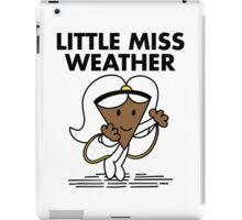 Little Miss Weather iPad Case/Skin