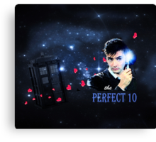 The Perfect 10 Canvas Print