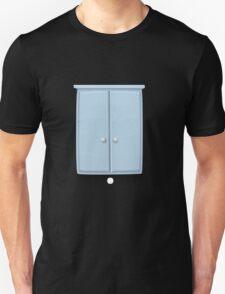 Glitch bag furniture wallcabinet powdered blue wall cabinet T-Shirt