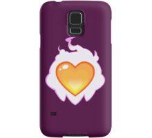 Burning Heart Samsung Galaxy Case/Skin
