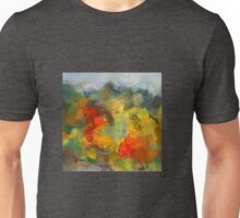 Abstract colourful landscape Unisex T-Shirt