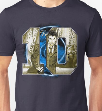Number 10 Unisex T-Shirt