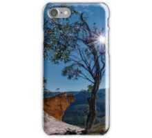Hanging Rock, Blue Mountains, Australia iPhone Case/Skin