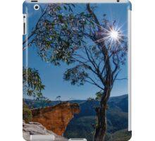 Hanging Rock, Blue Mountains, Australia iPad Case/Skin